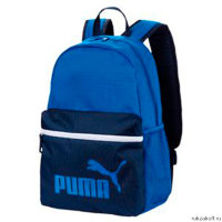 Рюкзак Puma Phase Backpack Синий/Тёмно-синий