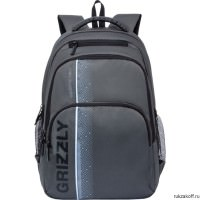 Рюкзак Grizzly Geometric Gray RU-934-5/4