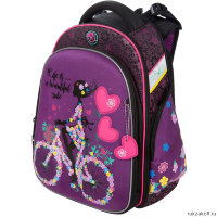 Школьный рюкзак Hummingbird Girl on a Bicycle T102(Pur)