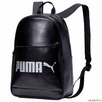 Рюкзак Puma Campus Backpack PU Черный
