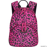 Рюкзак Grizzly Girlie Leopard Pink Rs-756-5